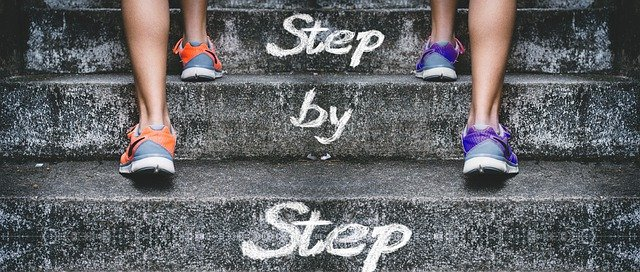 Les étapes sevrage